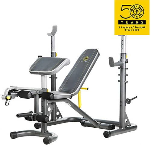 Gold's Gym XRS 20 Olympic Workout Bench and Rack at Walmart ($129.21 + tax + free shipping)