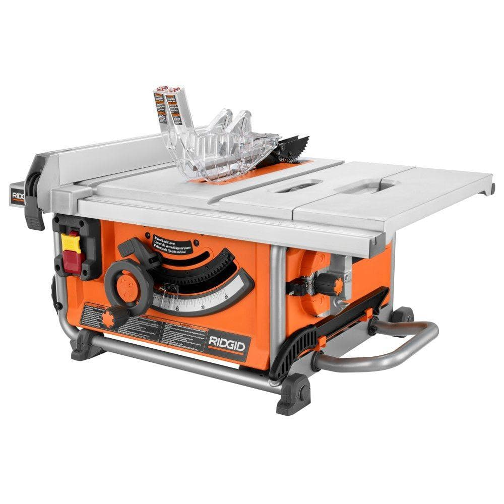Ridgid r4516 15 amp 10 compact table saw for 99 table saw