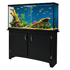 60 gallon marineland heartland led aquarium w stand for Smart fish tank