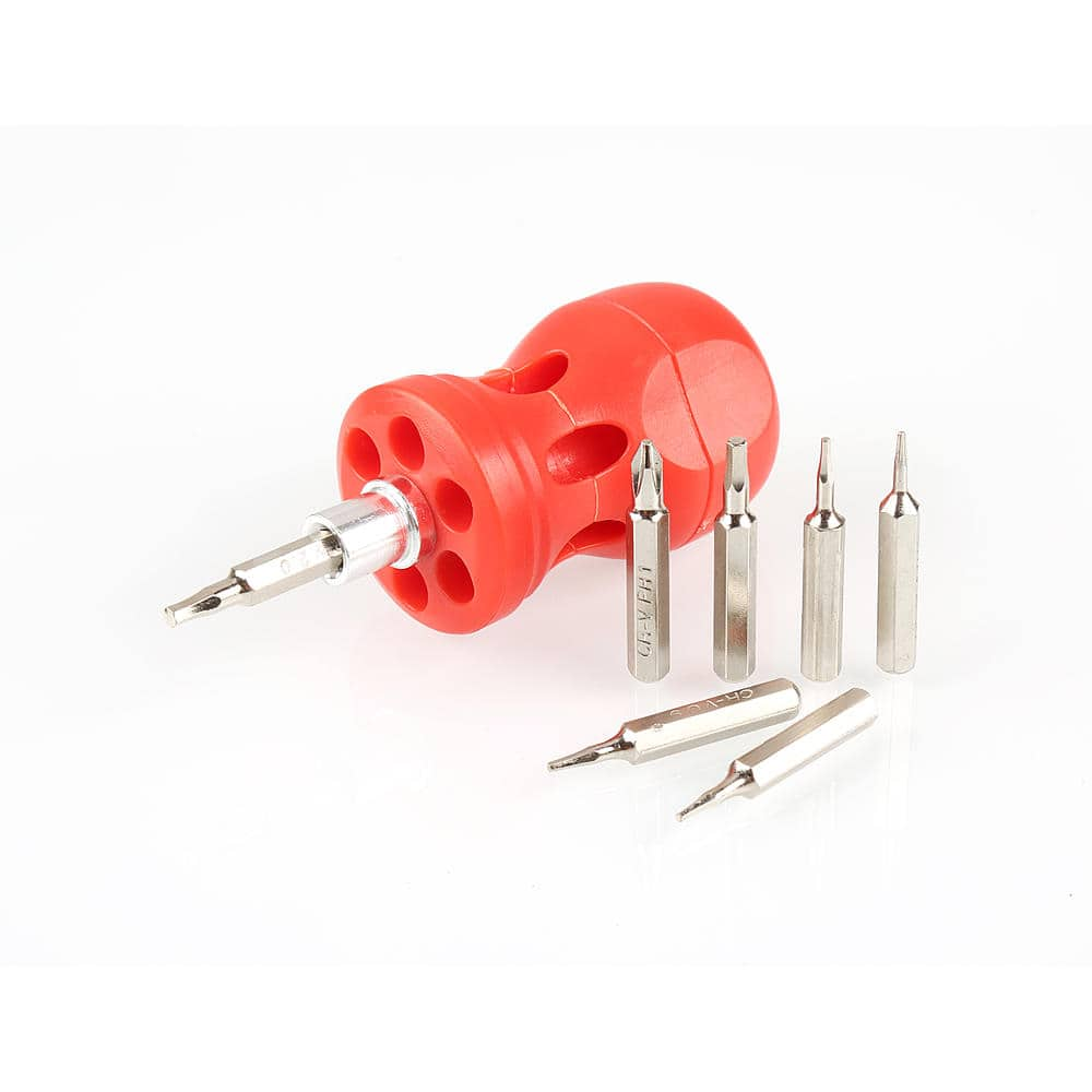 olympia tools 6 piece precision screwdriver set or mult bit driver more free store. Black Bedroom Furniture Sets. Home Design Ideas