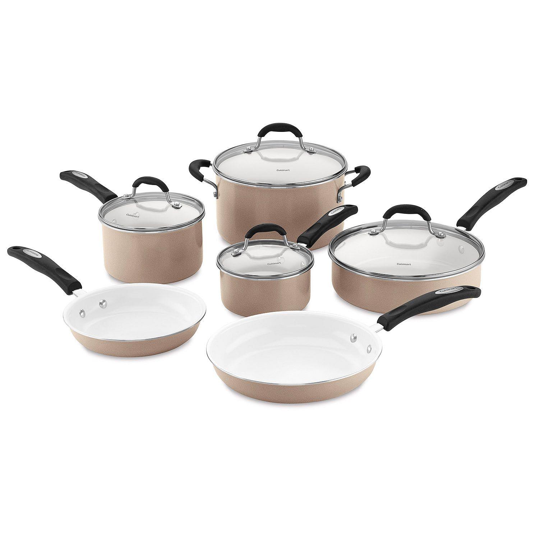 Sam S Club Members 10 Pc Cuisinart Ceramic Nonstick