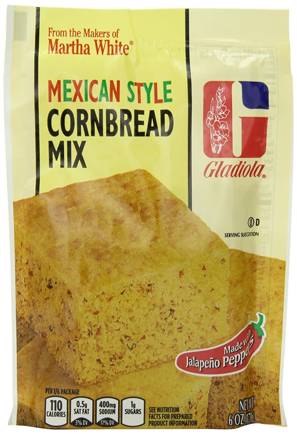 12-Pack of 6oz Gladiola Mexican Style Cornbread Mix $6.85 or Less w/ S&S + Free Shipping ~ Amazon
