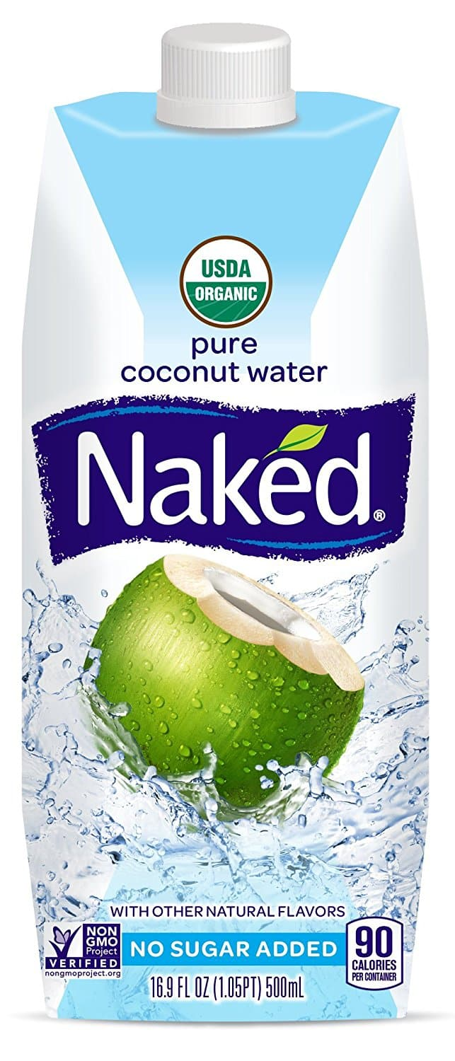 12-Pack of 16.9oz. Naked Juice 100% Pure Coconut Water $14.84 or Less w/ S&S + Free Shipping ~ Amazon