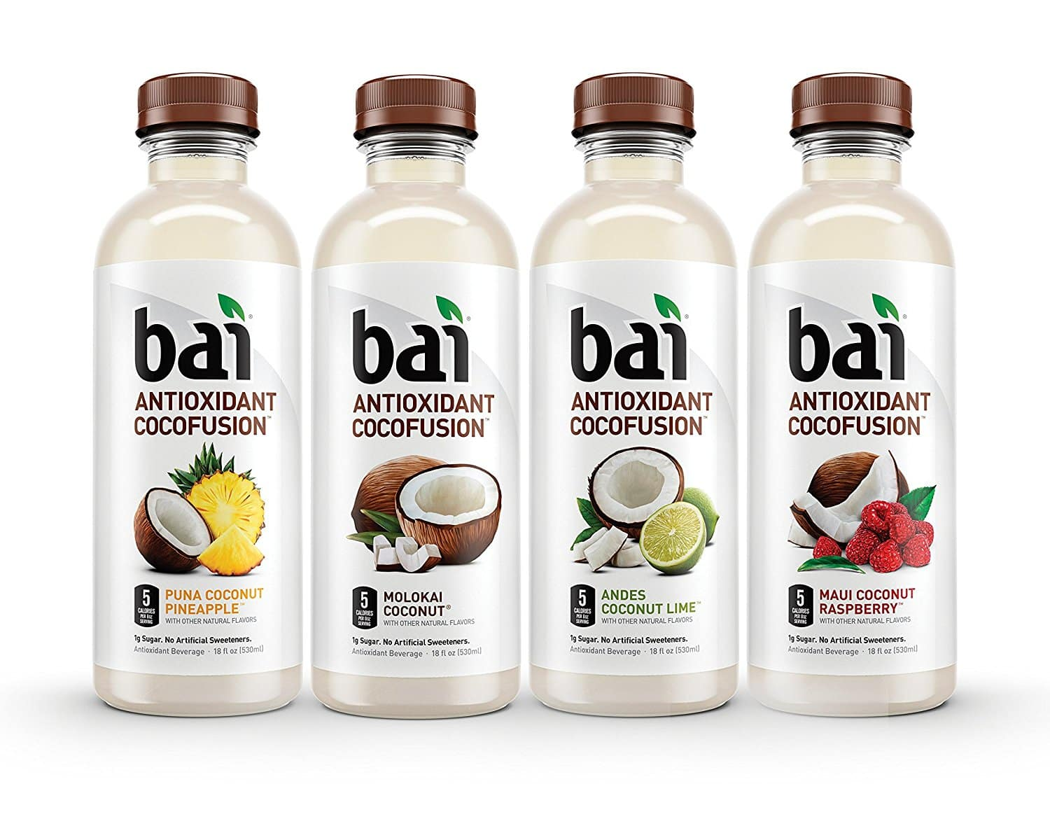 12-Pack of 18oz Bai Cocofusions Antioxidant Infused Beverages (Variety Pack) $9.31 or Less w/ S&S + Free Shipping ~ Amazon