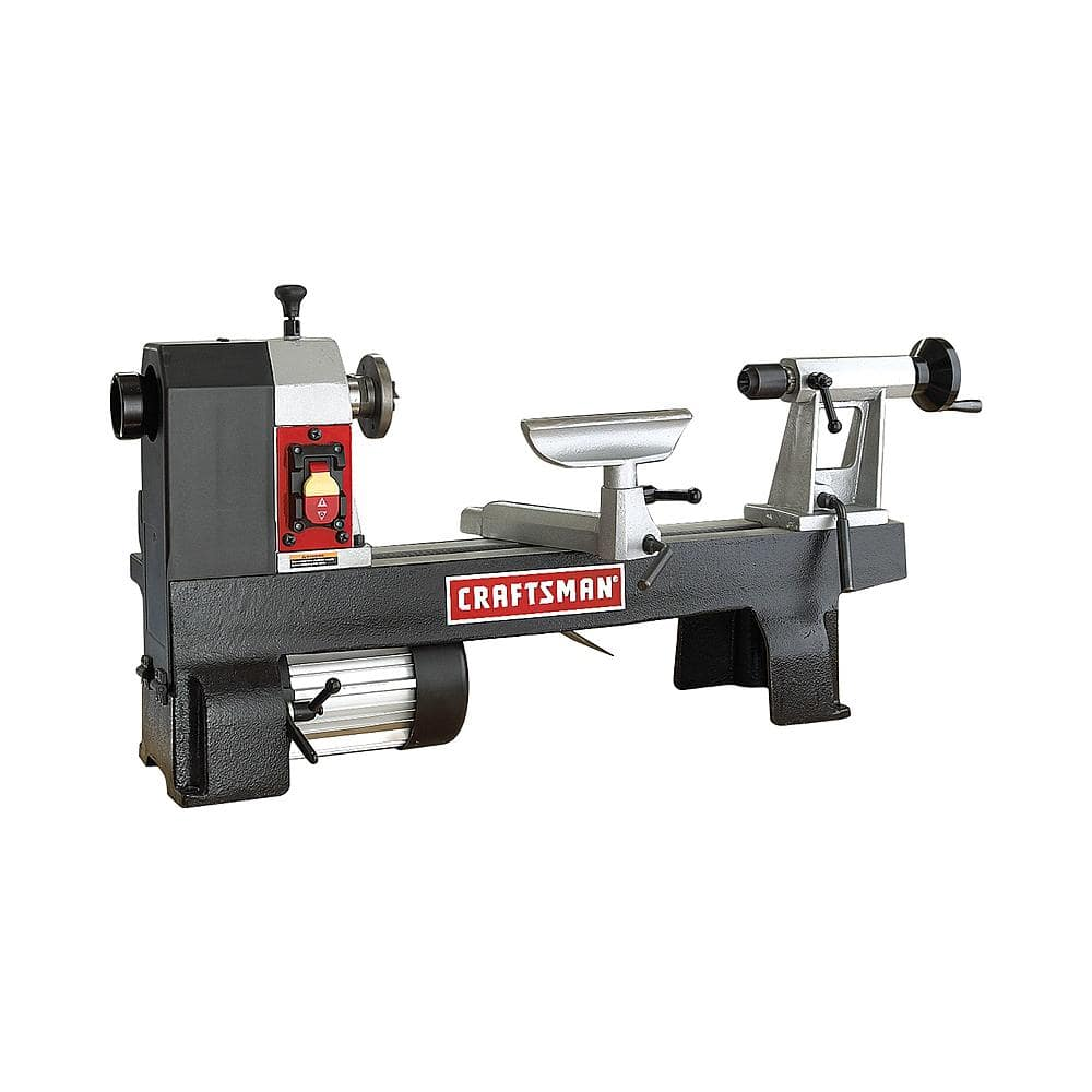 "Craftsman 1/2-HP 12""x16"" Midi Lathe + ~$42 in SYW Points $213.67 + Free Store Pickup ~ Sears *YMMV*"