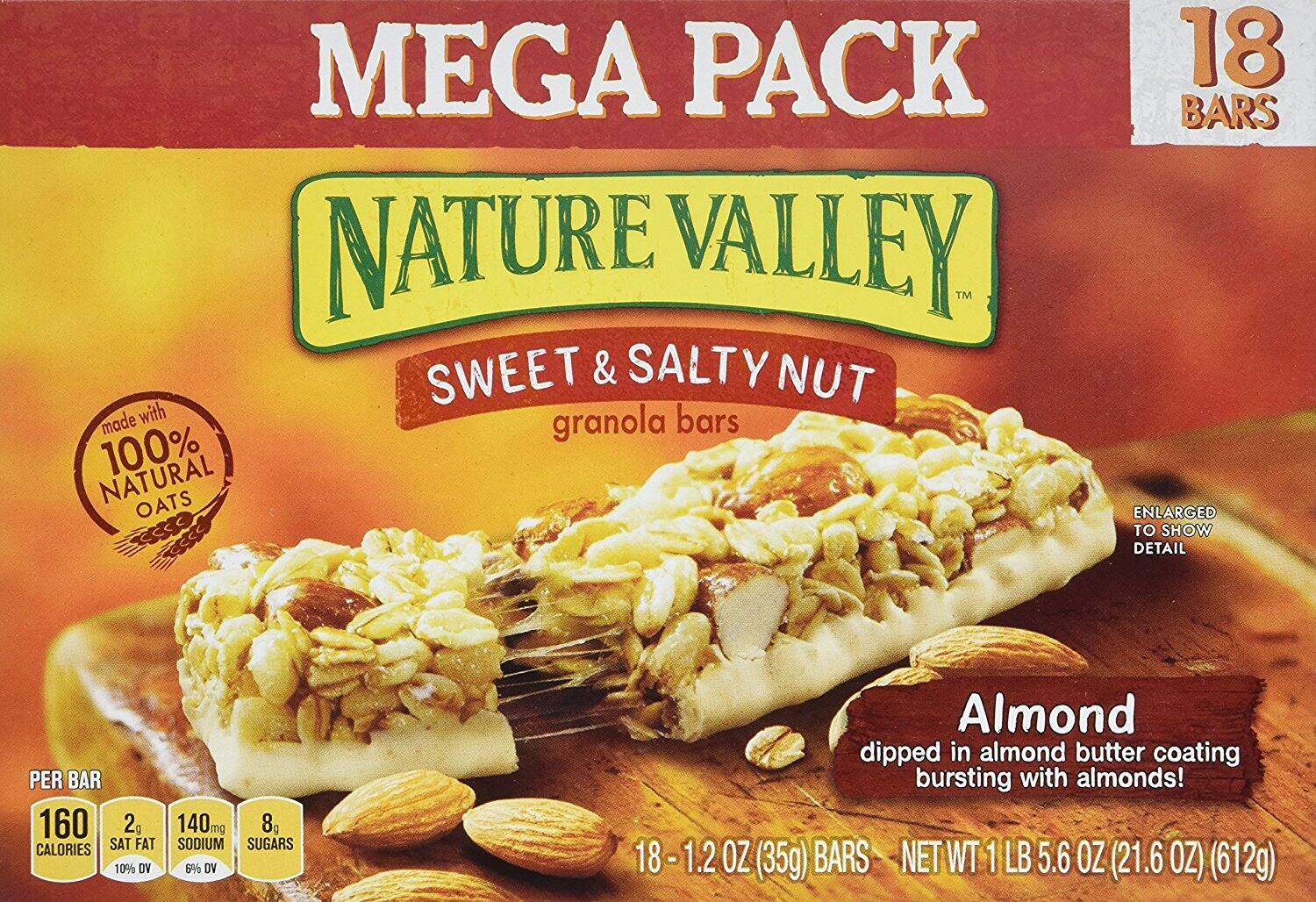 Are Nature Valley Almond Bars Good For You