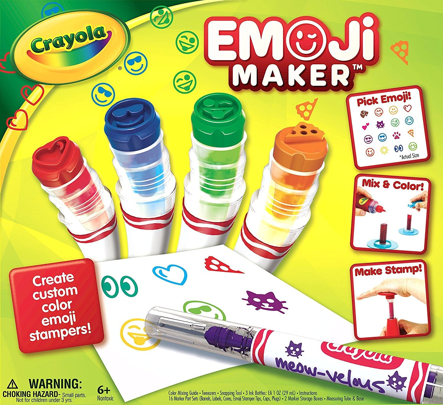 Crayola Emoji Marker Maker $8.67 ~Amazon
