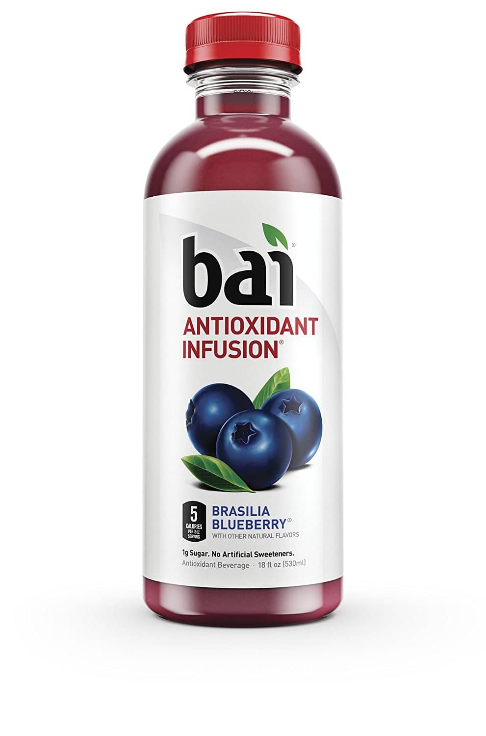 12-Pack of 18oz Bai Antioxidant Infused Beverage (Brasilia Blueberry) $12.58 or Less w/ S&S + Free Shipping ~ Amazon