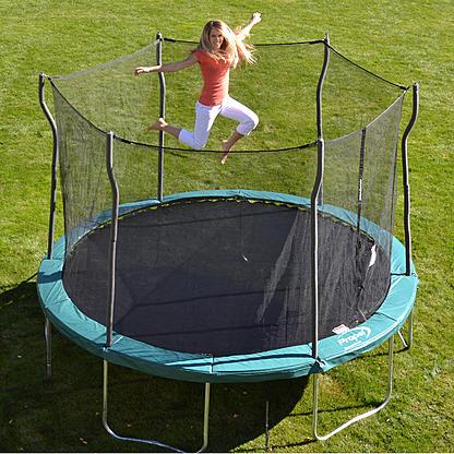 12' Propel Trampoline w/ Enclosure + Jump 'N' Jam Trampoline Basketball Hoop $149.99 + Free Store Pickup ~ Kmart