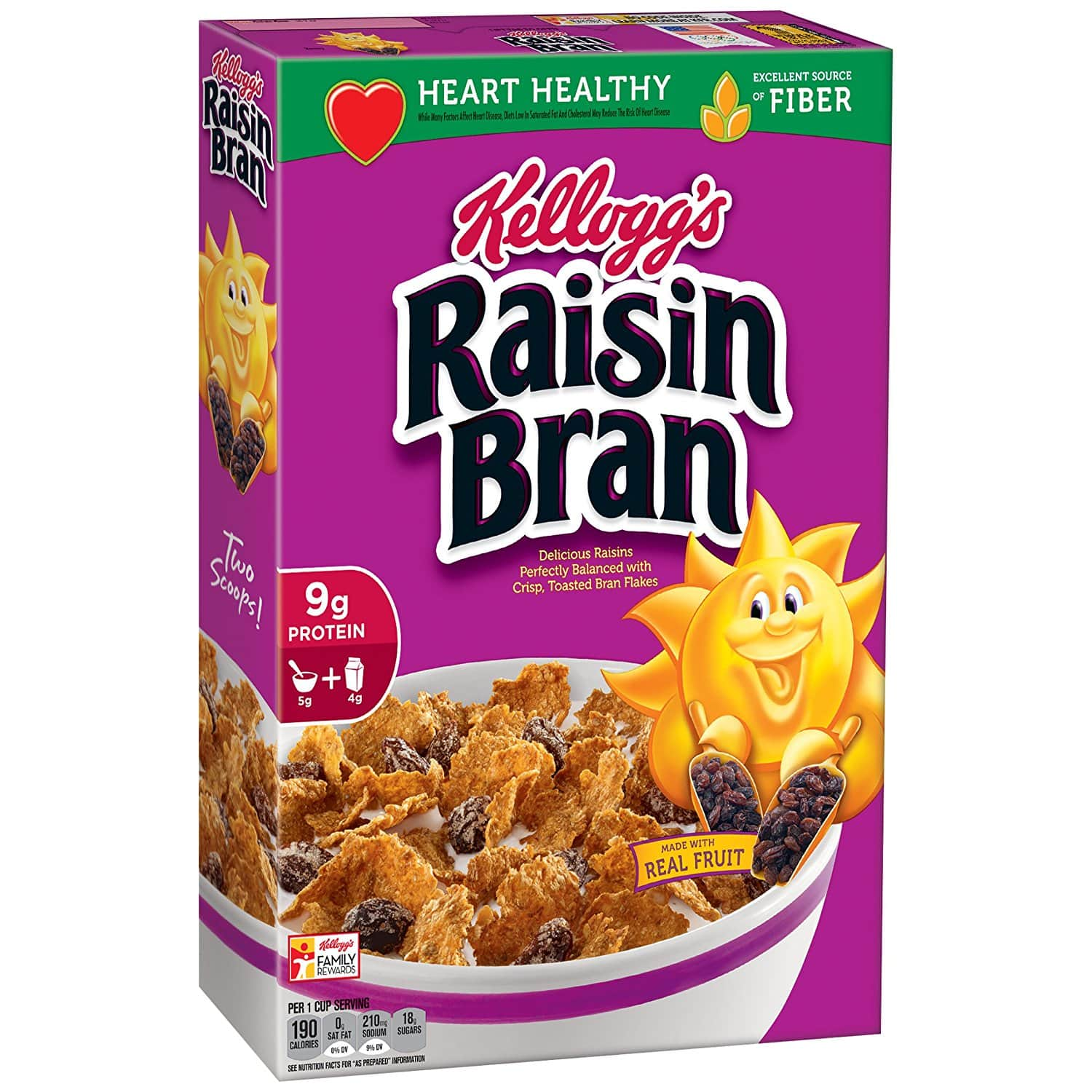 What are bran cereals