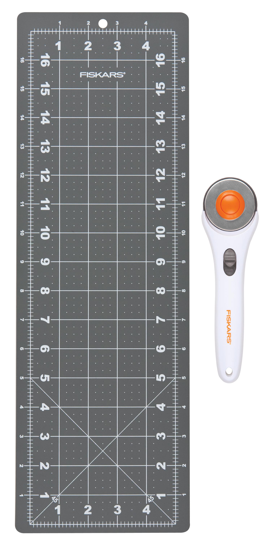 2-Piece Fiskars Rotary Cutting Set $4.55, Fiskars 60mm Stick Rotary Cutter $4.32 + Free Store Pickup ~ Walmart