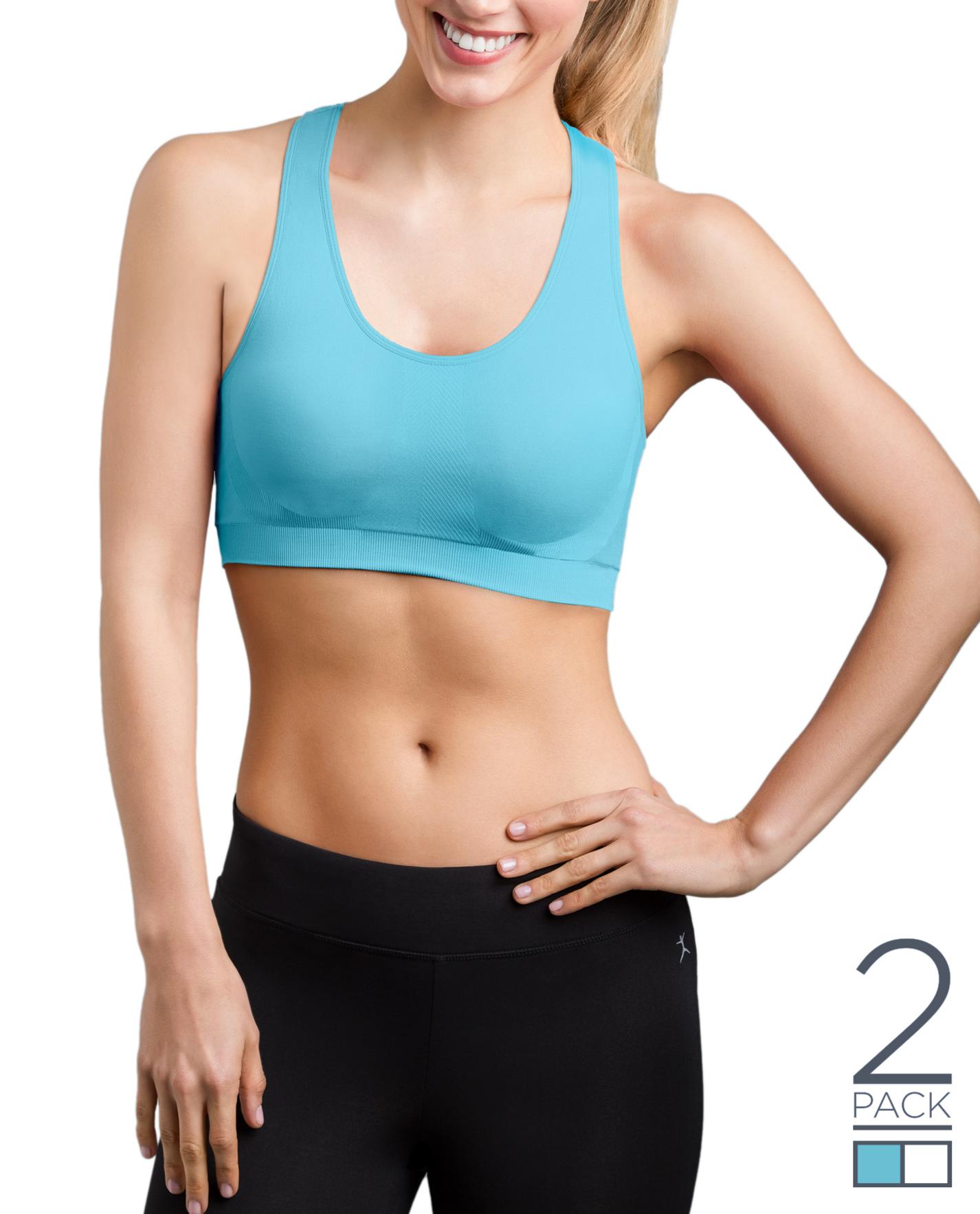 a356959773b66 Danskin New Customers: 2-Pack Women's Seamless Sports Bra ...