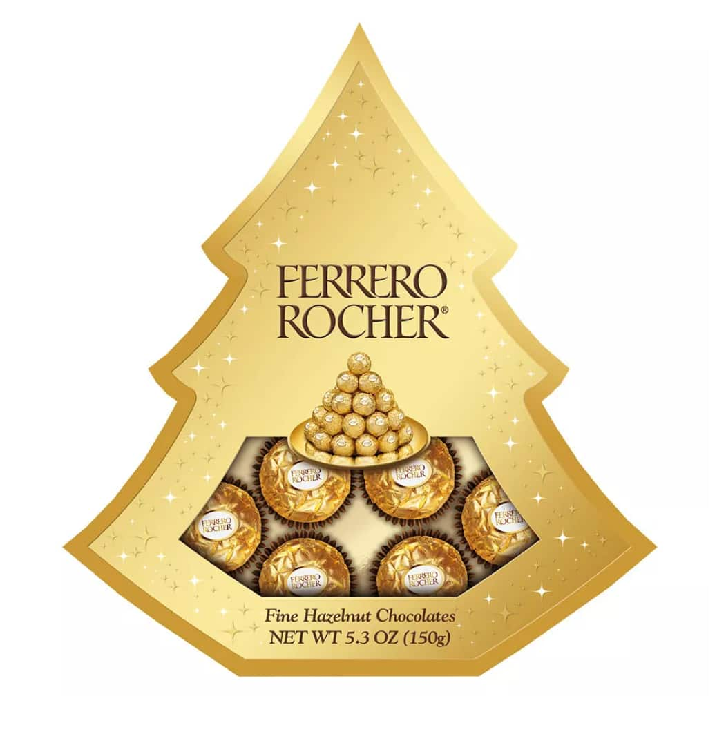 ferrero rocher tree gift box 5 3 oz hazelnut page 2. Black Bedroom Furniture Sets. Home Design Ideas
