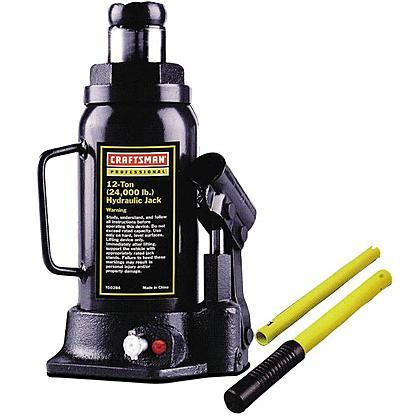 Craftsman Professional 12-Ton Hydraulic Jack $23 + Free Store Pickup ~ Sears