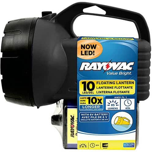 Rayovac 10-LED 6V Floating Lantern w/ Battery $4.92 ~ Walmart or Amazon Add-on