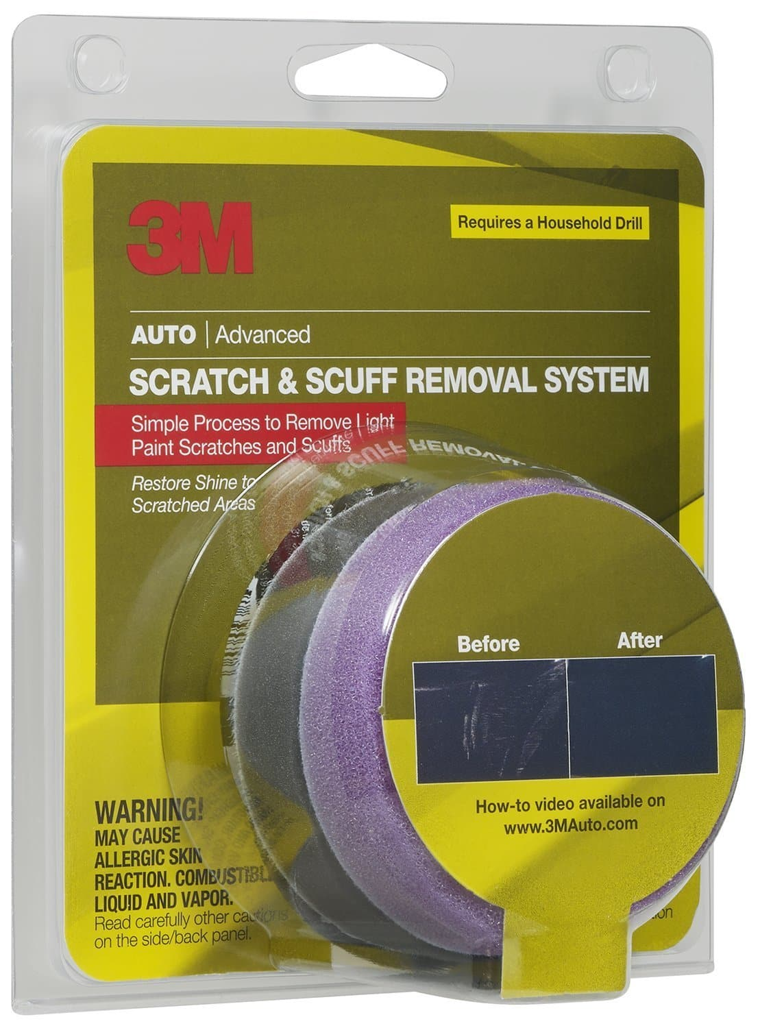3M Auto Scratch & Scuff Removal System $5.44 w/ S&S + Free Shipping ~ Amazon