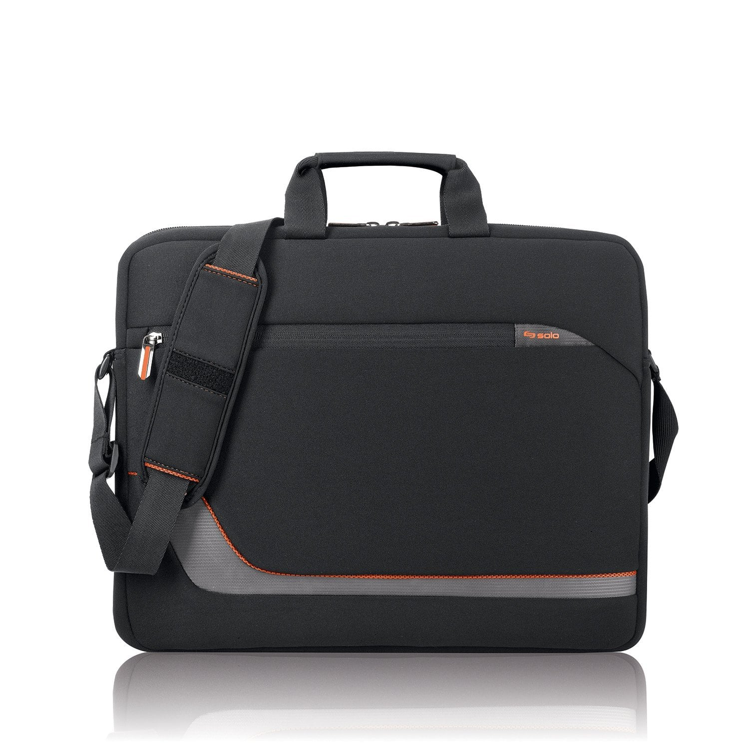 "Solo Urban 17.3"" Laptop Slim Briefcase (Black) $10 + Free S&H w/ Prime or orders $25+ ~ Amazon"