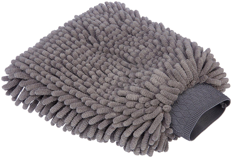 add on item amazonbasics deluxe microfiber car wash mitt. Black Bedroom Furniture Sets. Home Design Ideas