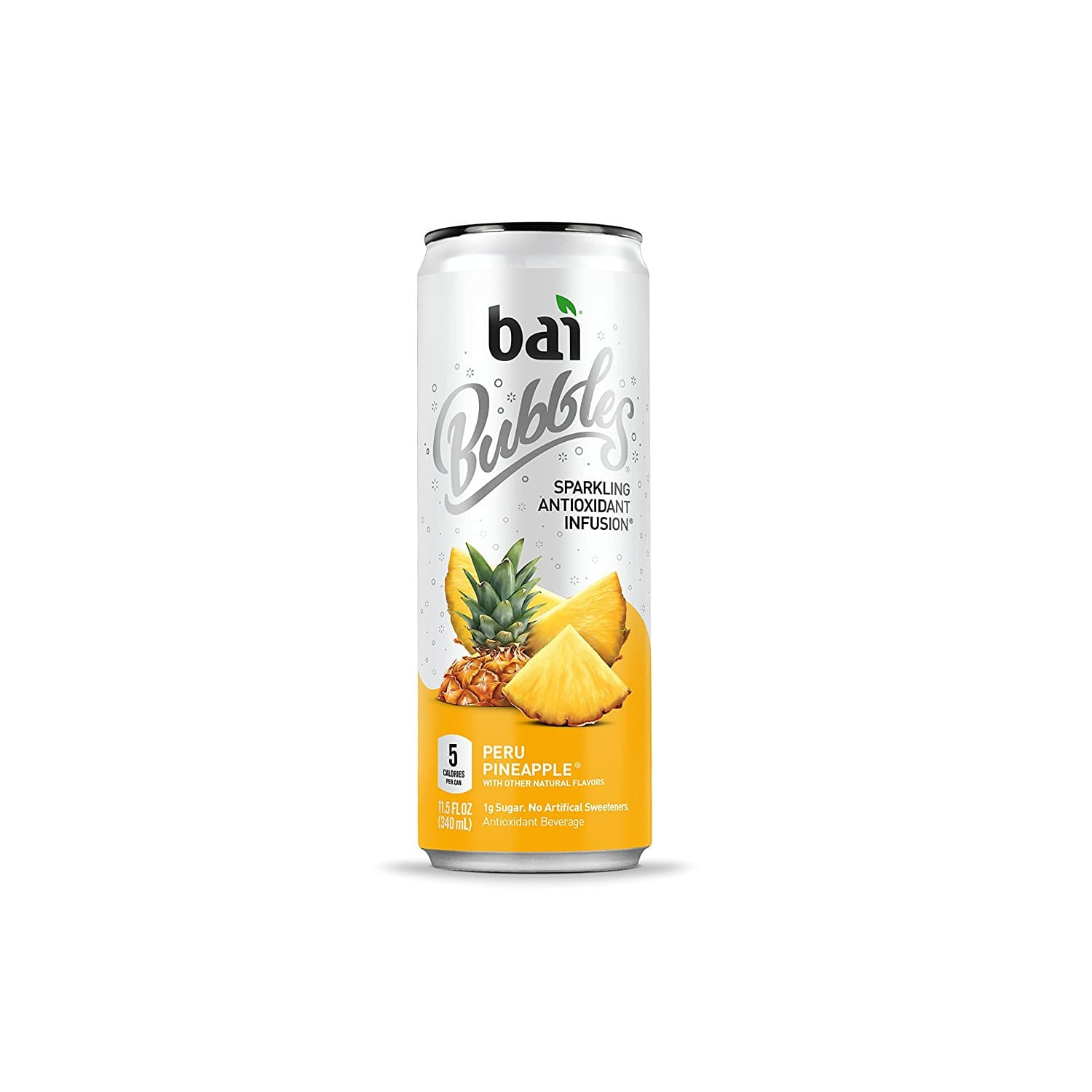 12-Pack of 11.5oz Bai Bubbles Antioxidant Infused Sparkling Water Drinks (Peru Pineapple) $9.30 or Less w/ S&S + Free Shipping ~ Amazon