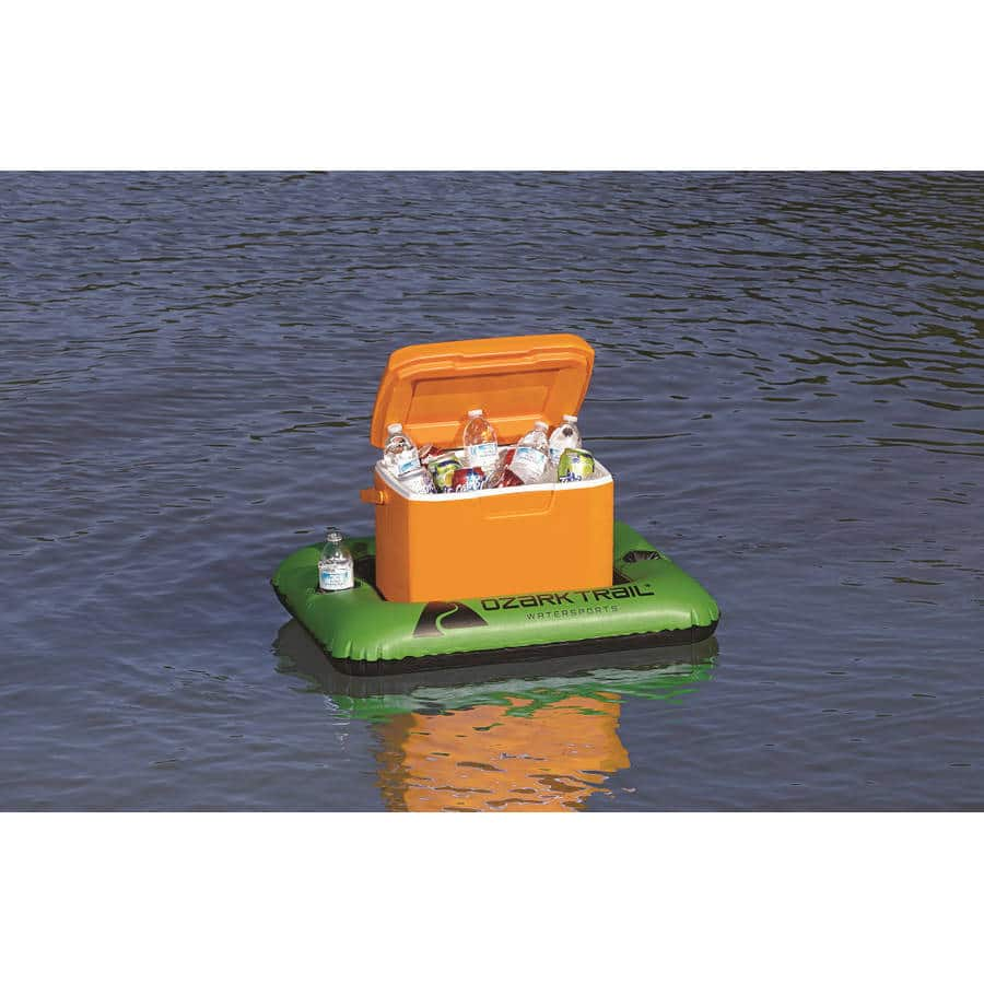 Ozark Trail 28-Qt Cooler Float w/ 2 Cup Holders $2 + Free Store Pickup ~ Walmart