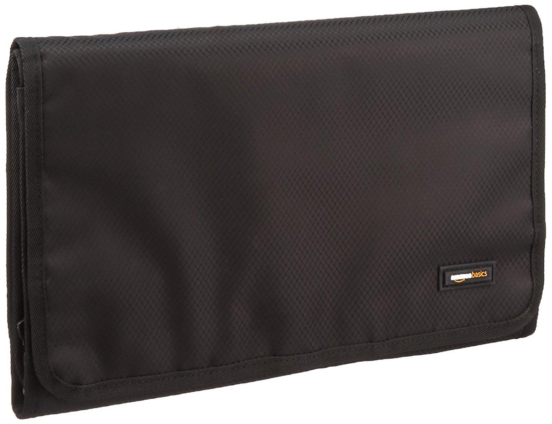 Add-on Item: AmazonBasics Tri-Fold Expandable Cosmetics and Toiletry Organizer/Travel Bag w/ Hanging Hook $3.17 ~ Amazon