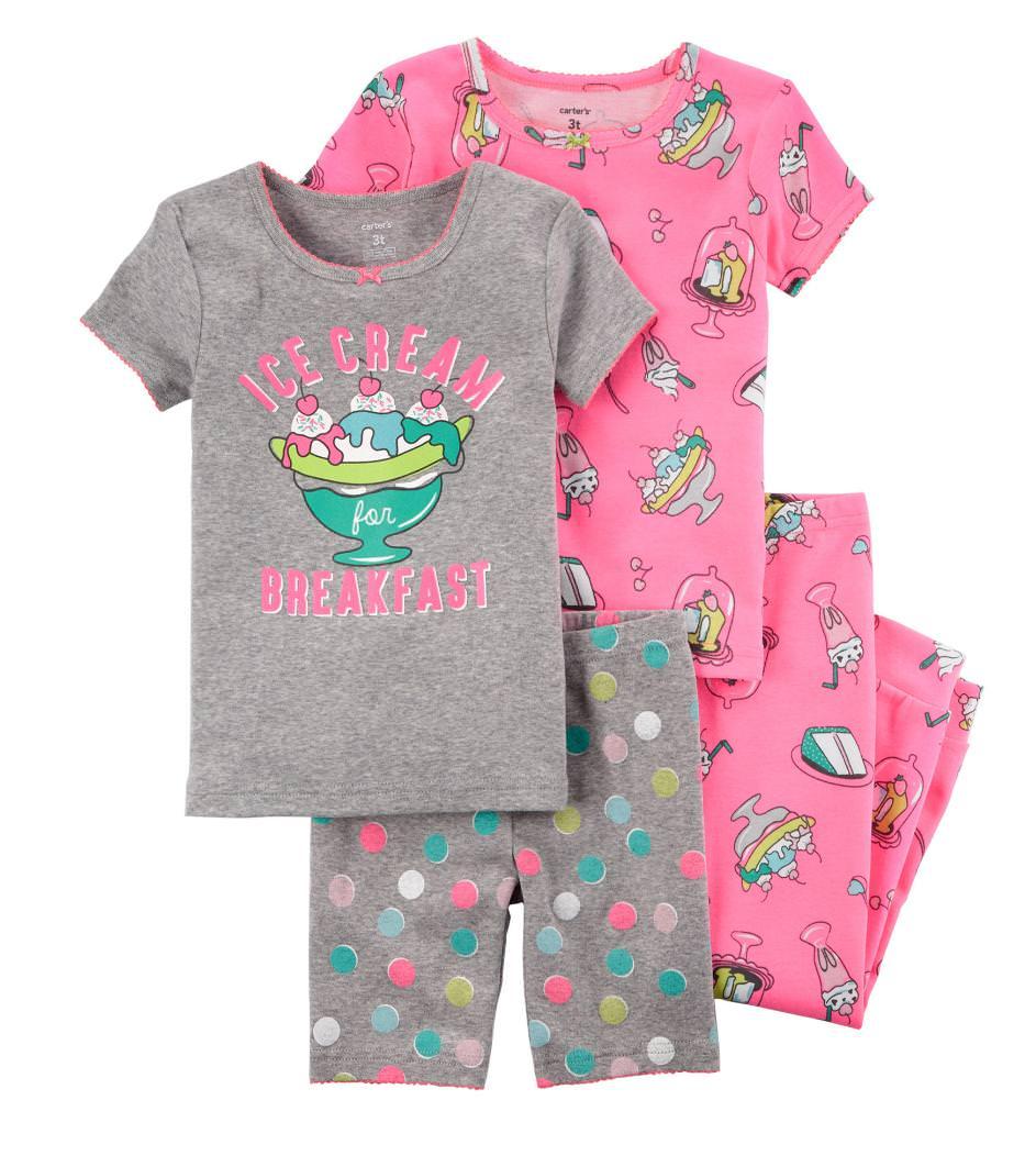 12b123bebeca Carter s Sale  Baby Boys  or Girls  4-Piece Pajama Set - Slickdeals.net