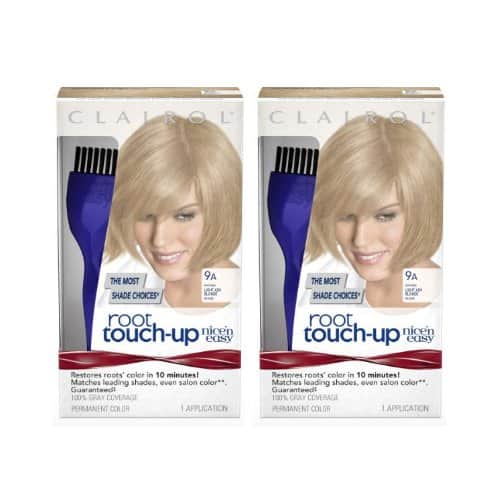 2-Pack Clairol Nice 'n Easy Root Touch-Up Kit (Light Ash Blonde Shades) $0.47 + Free S&H w/ Prime or orders $25+ ~ Amazon