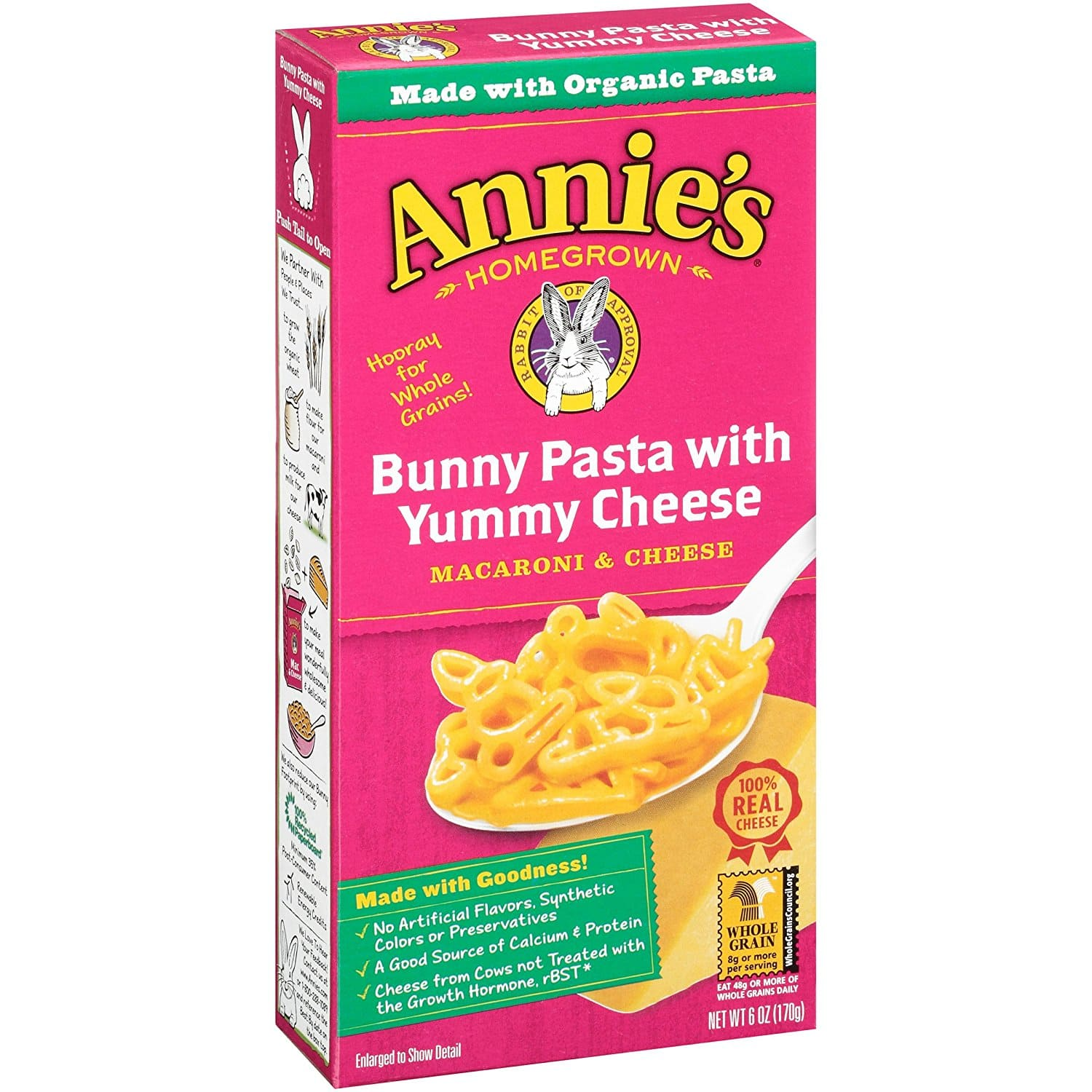 12-Pack of 6oz Annie's Bunny Pasta w/ Yummy Cheese Macaroni & Cheese $8.29 or Less w/ S&S + Free Shipping ~ Amazon