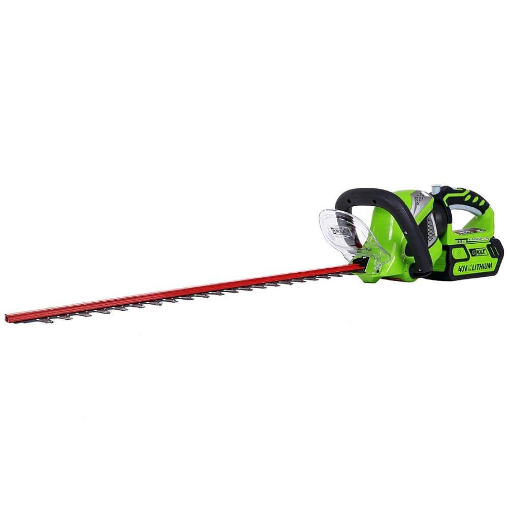 "Greenworks 24"" G-Max 40V Lithium-Ion Cordless Rotating Hedge Trimmer $79.99 + Free Shipping ~ Sears"