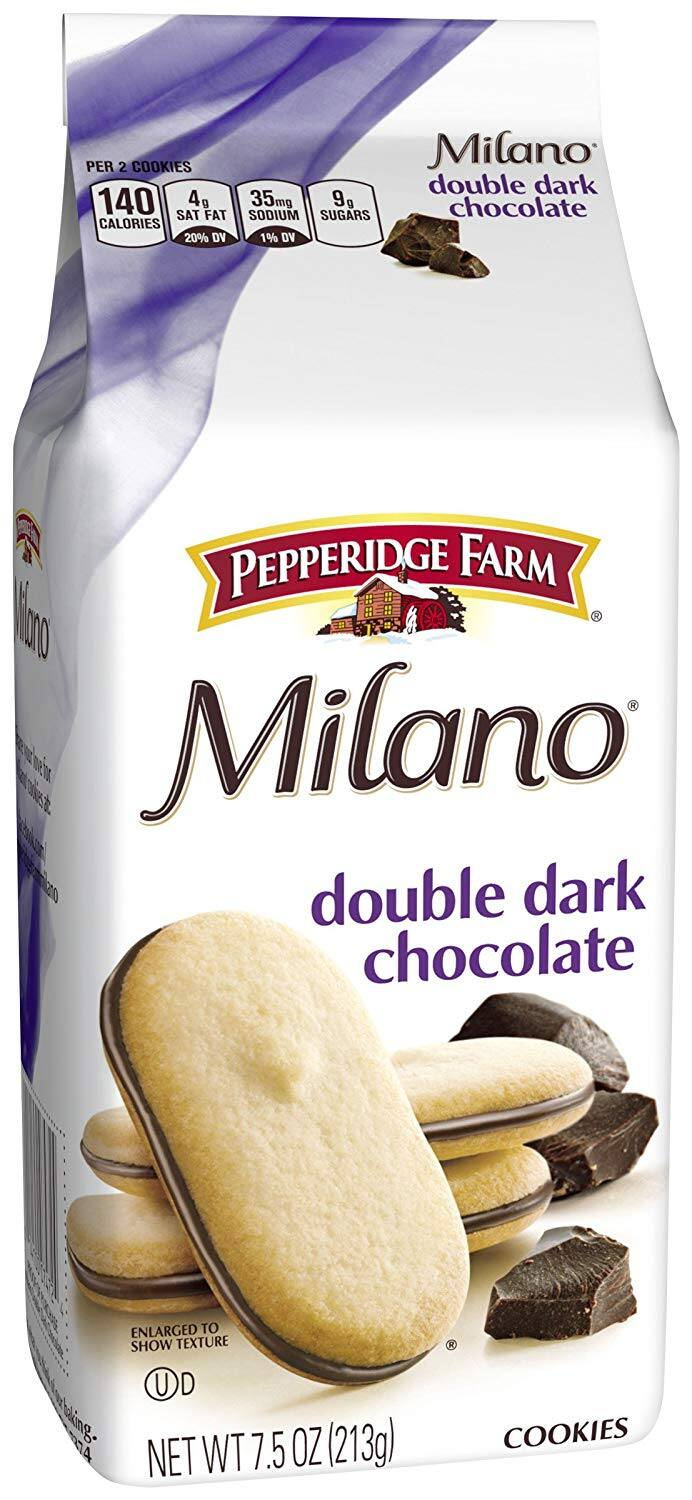 3-Count of 7.5oz Pepperidge Farm Milano Cookies (Double Dark Chocolate) $5.81 or Less w/ S&S + Free Shipping ~ Amazon