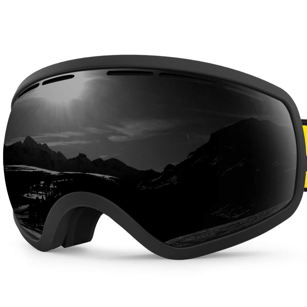 7c80d5b3688 ZIONOR OTG Ski Snowboard Goggles Double-layer Lens (Various Colors ...