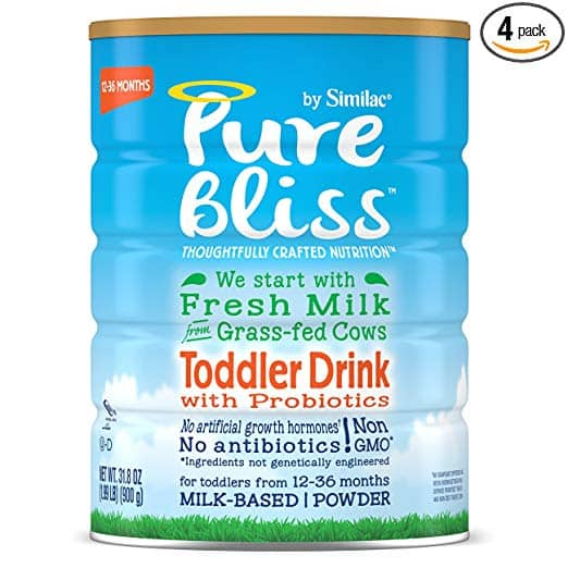 4-Pack of 31.8oz Pure Bliss by Similac Toddler Drink w/ Probiotics $65.06 or Less w/ S&S + Free Shipping ~ Amazon