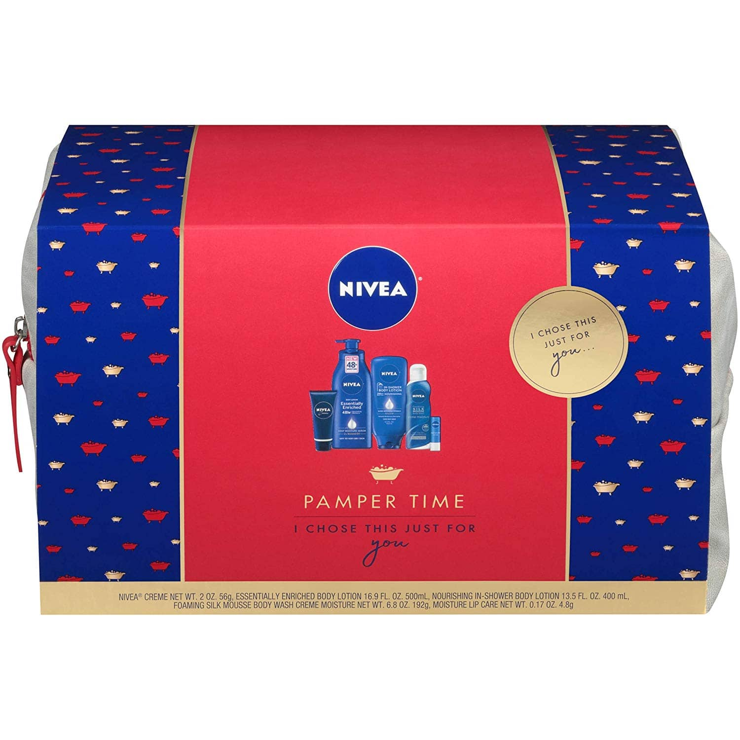 5-Piece Nivea Pamper Time Gift Set $14.39 + Free S&H w/ Prime or orders $25+ ~ Amazon