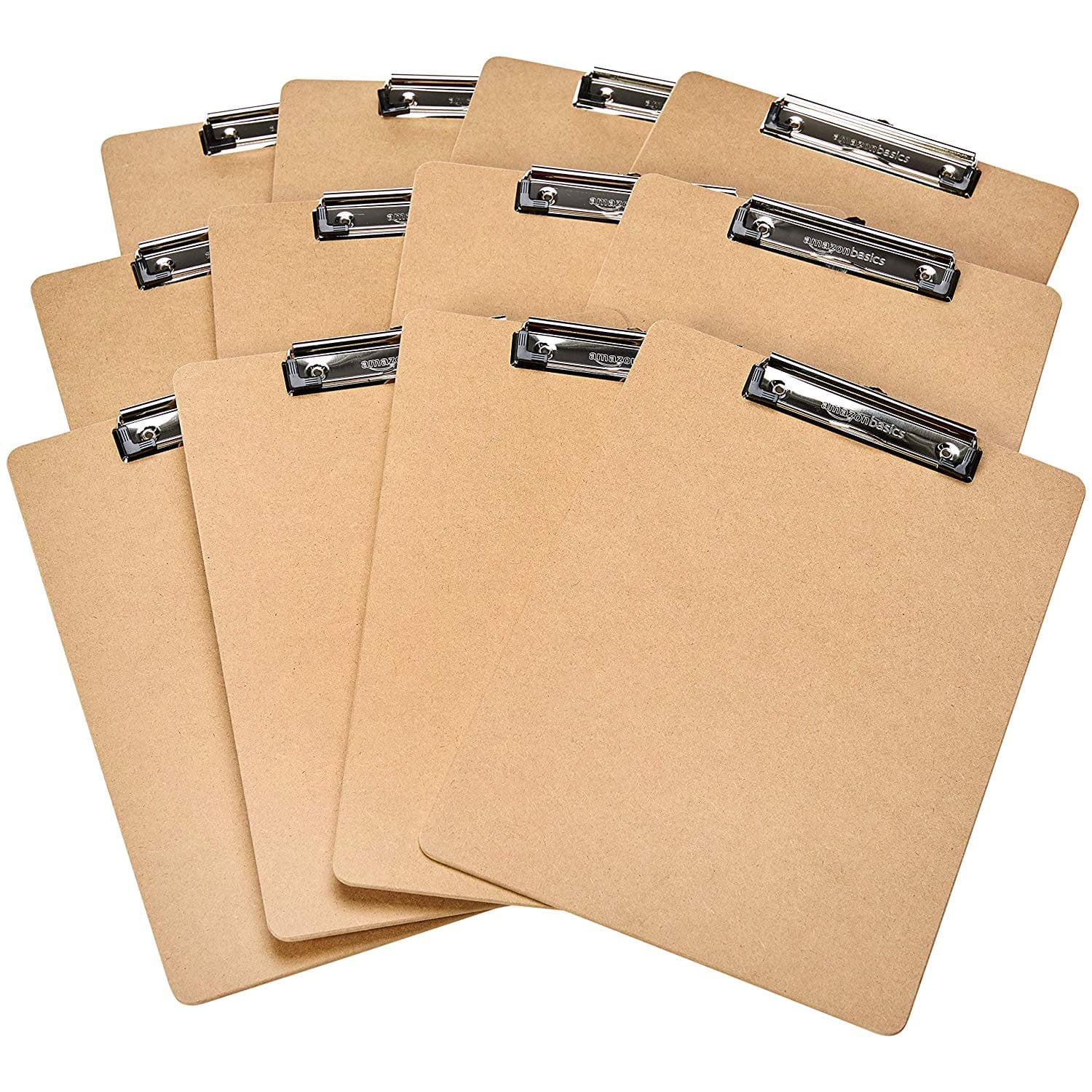 Add-on Item: 12-Pack AmazonBasics Hardboard Clipboard $4.56 ~ Amazon
