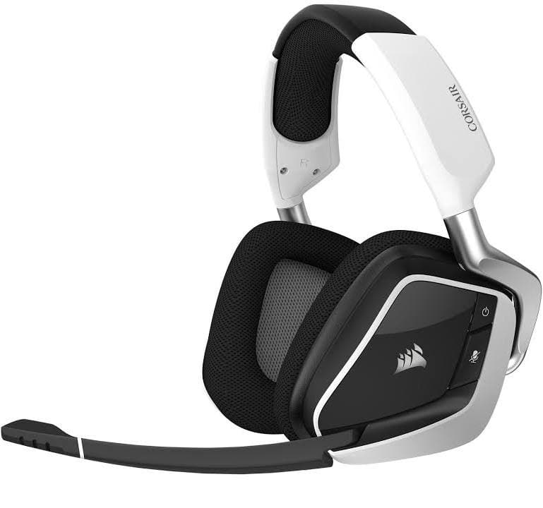 Google Express New Customers: Corsair Gaming Void PRO RGB Wireless Over-Ear Headset (White) $55.99 + Free Shipping