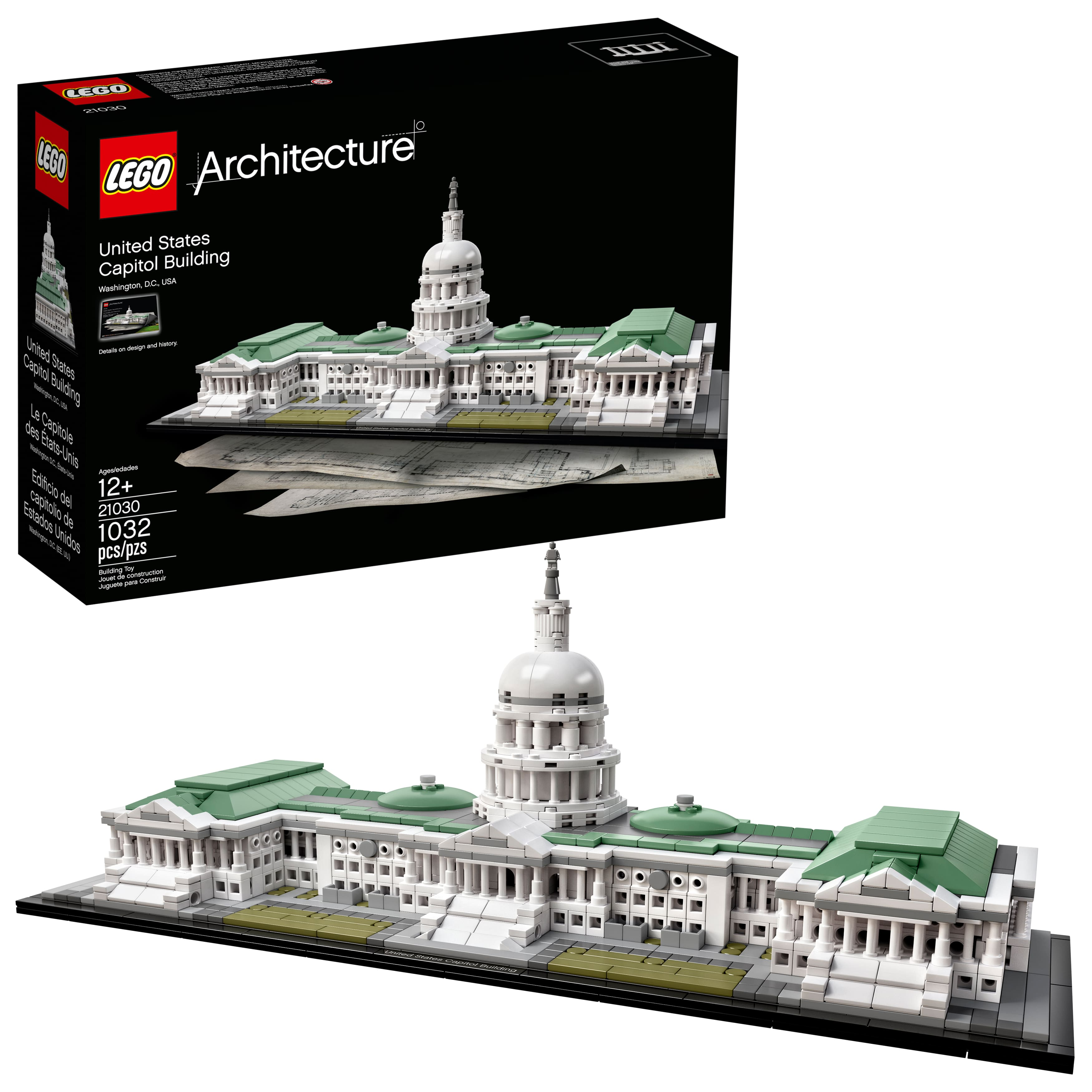 lego architecture capitol building - HD 3500×3500
