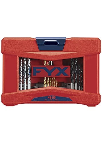 49-Piece FYX Ultimate Household Drill and Drive Mixed Set