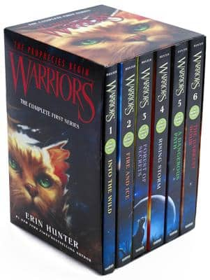 Warriors Box Set: Volumes 1 to 6: The Complete First Series (Paperback) $20.40 ~ Walmart or Amazon