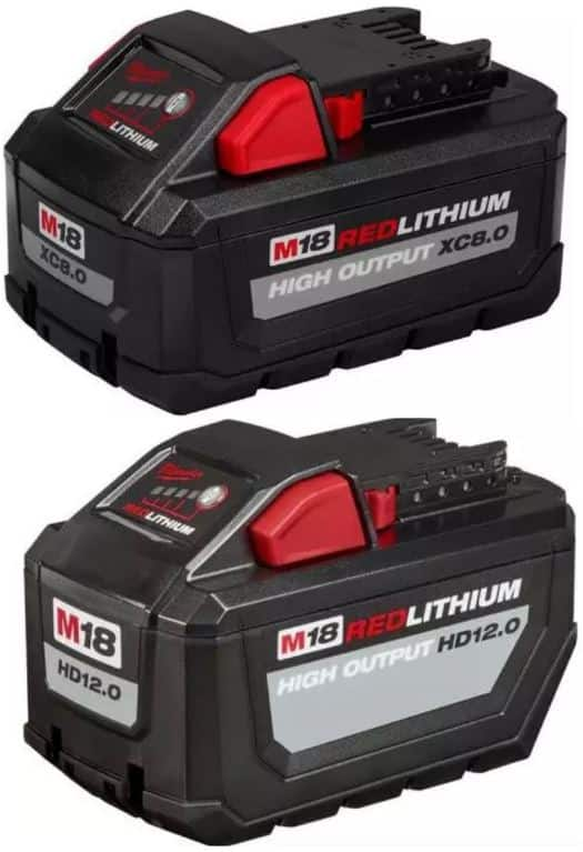 Milwaukee Battery M18 Red Lithium HD 12.0 48-11-1812 NEW