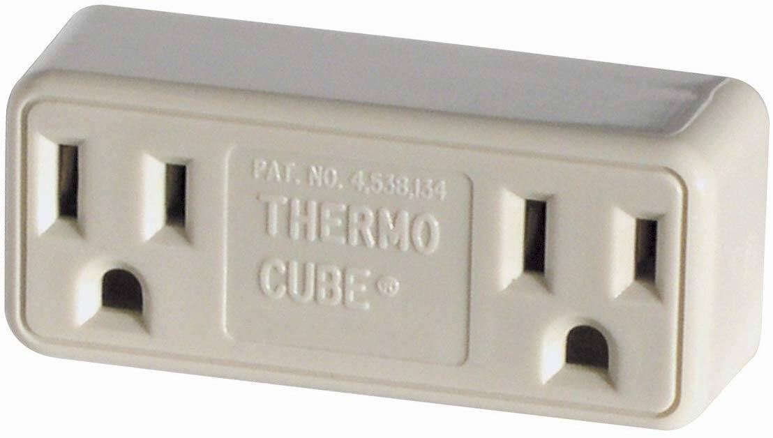 Thermo Cube TC-3 Cold Weather Thermostatically Controlled Outlet $3.11 + Free S&H w/ Prime or orders $25+ ~ Amazon