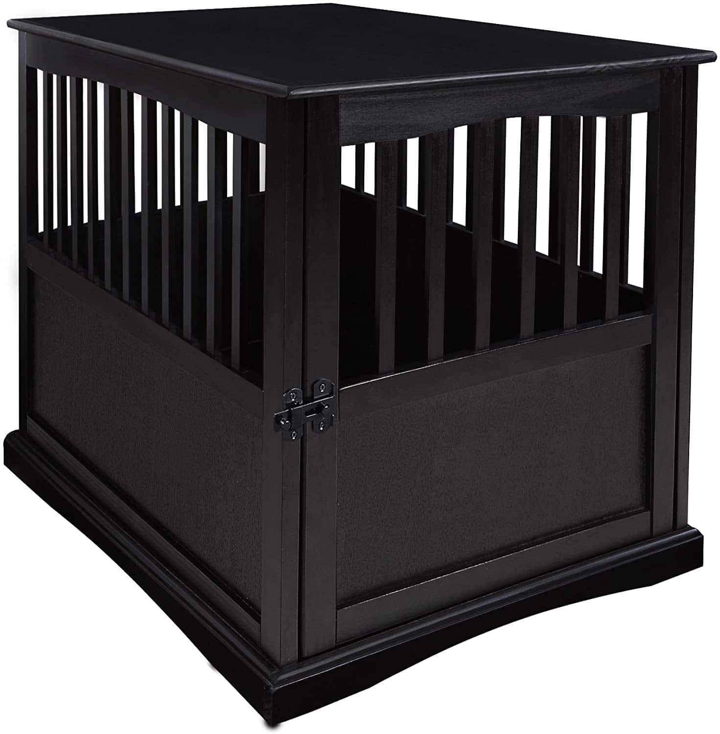 Casual Home Wooden End Table Pet Crate (Black) $83.31 + Free Shipping ~ Amazon or Chewy.com