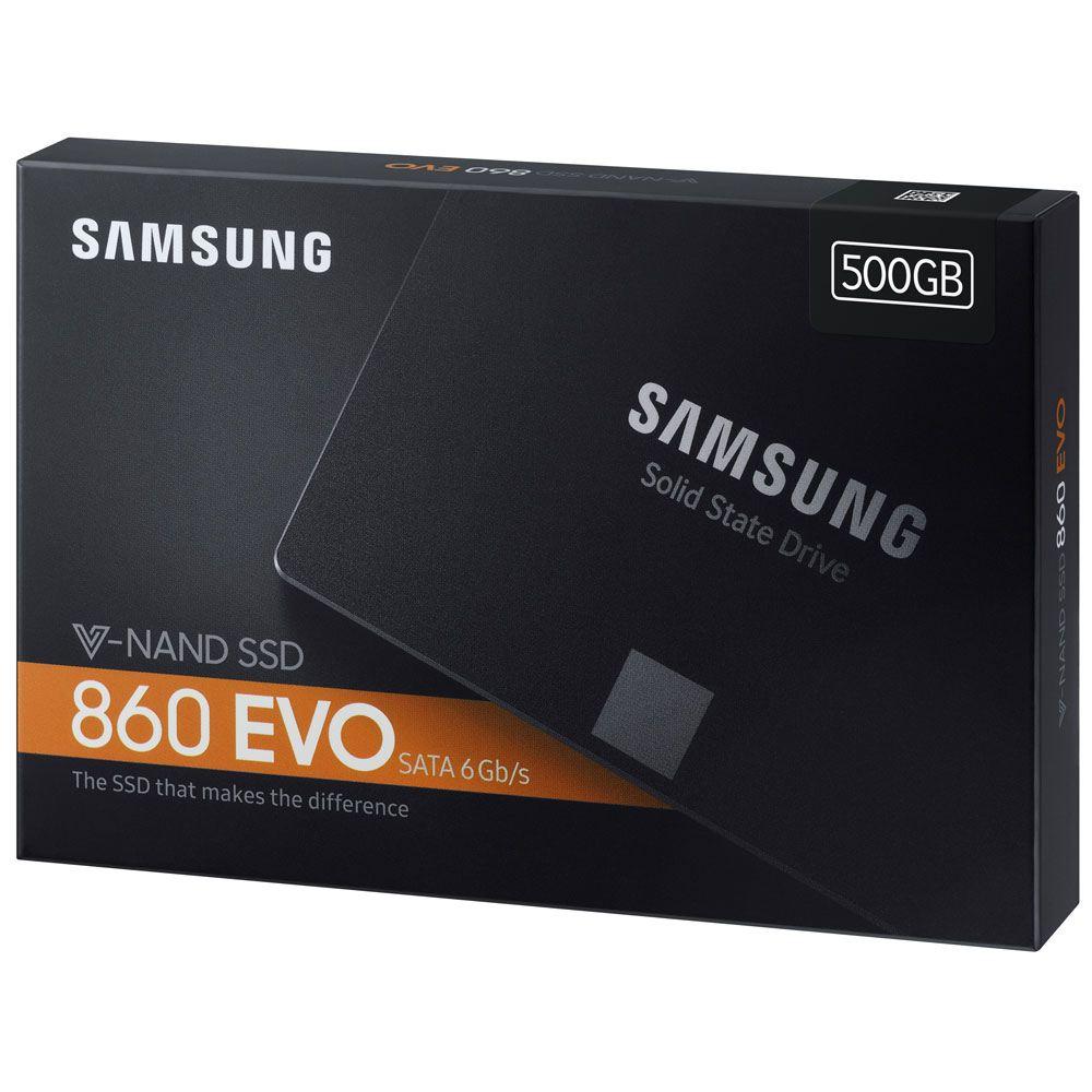 "Samsung 860 EVO 500GB MLC V-NAND SATA III 6Gb/s 2.5"" $94.99"