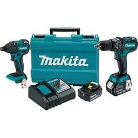 Makita 18V Brushless Drill/Driver Combo, 4.0AH Batteries $210, YMMV