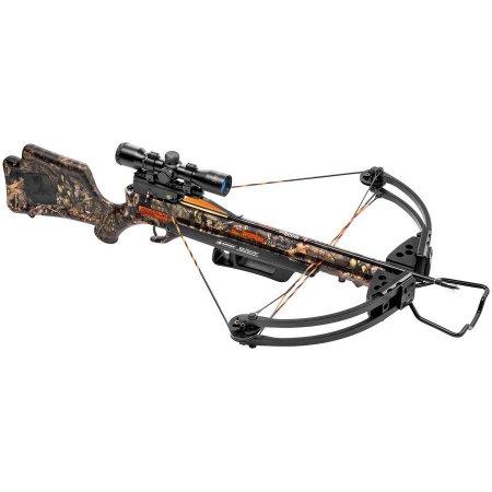 Wicked Ridge Warrior G3 Crossbow Package, Mossy Oak - YMMV $249