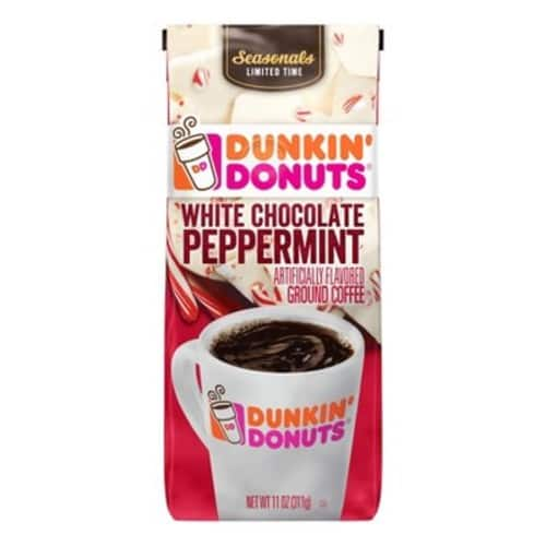 Dunkin' Donuts White Chocolate Peppermint Coffee - 11oz now $3.48 or less at Target - YMMV