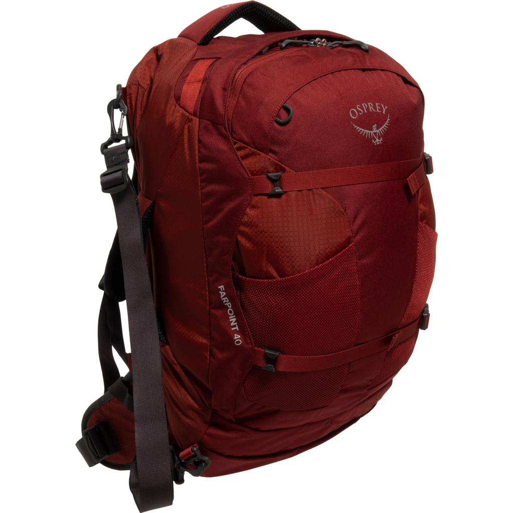 Osprey Farpoint 40 Men's Travel Backpack - Jasper Red - $79.99