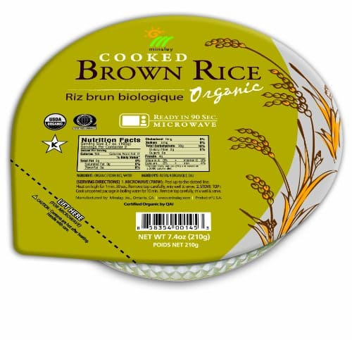 Costco B&M Minsley GoGo Organic Steamed Brown  Rice Bowls $4.99/6-pack YMMV