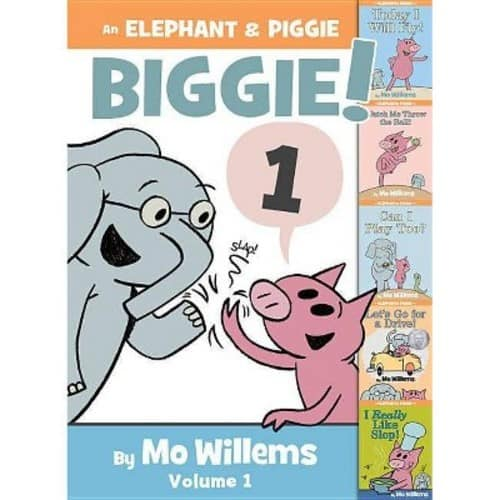 Elephant & Piggie Books( Author - Mo Willems) - 5 books in one ,  $8.63 @ Amazon