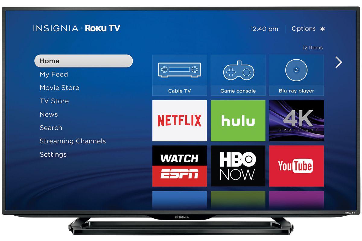 32in Insignia TV - 720p - LED - Roku TV $129.99