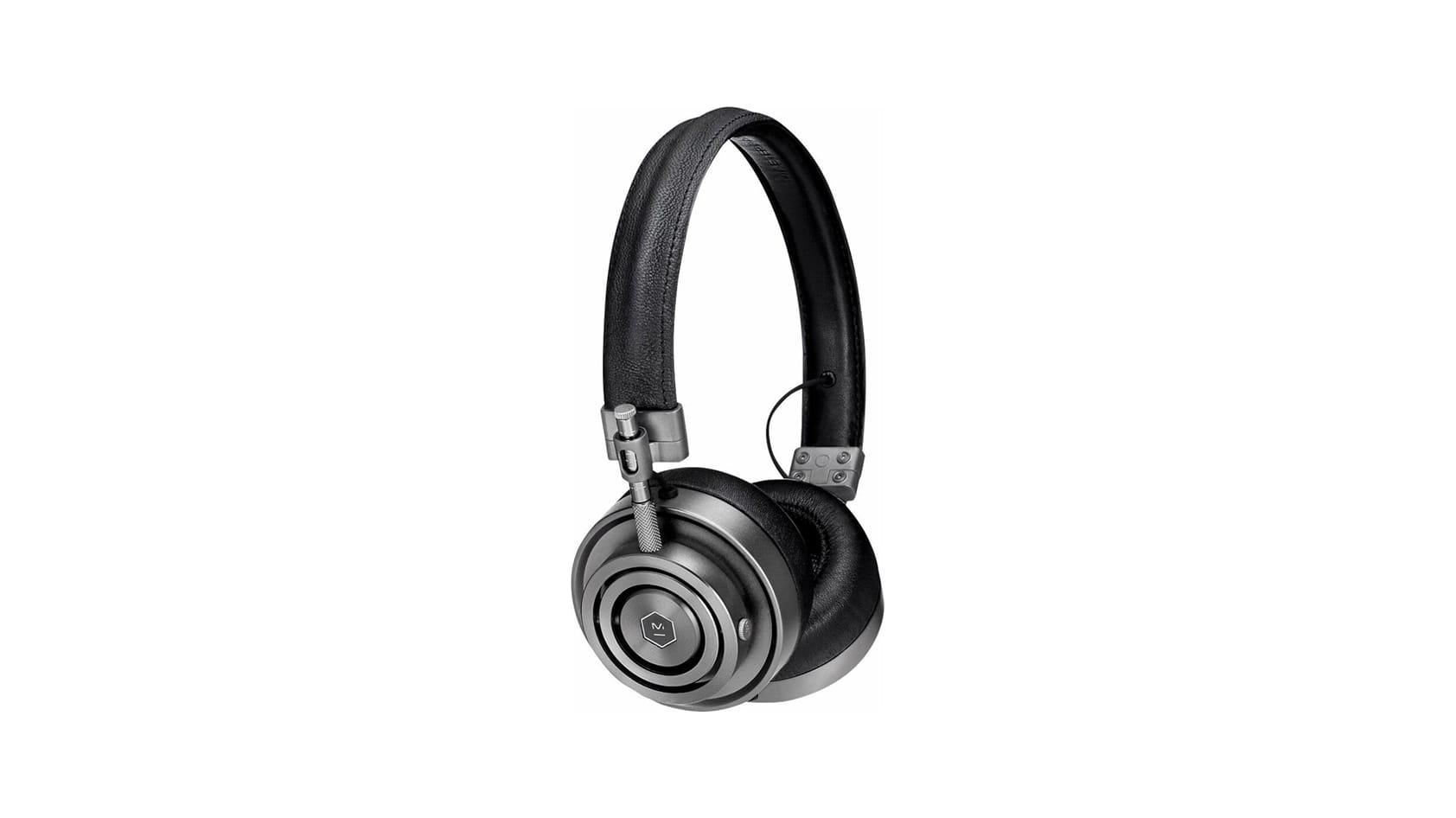 Master & Dynamic - MH30 On-Ear Headphones - Gunmetal/Black Leather $149.98